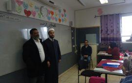 """""""رابطة الائمة في أم الفحم"""" تنظم فعاليات احتفالية  في مدارس المدينة بمناسبة المولد النبوي الشريف"""
