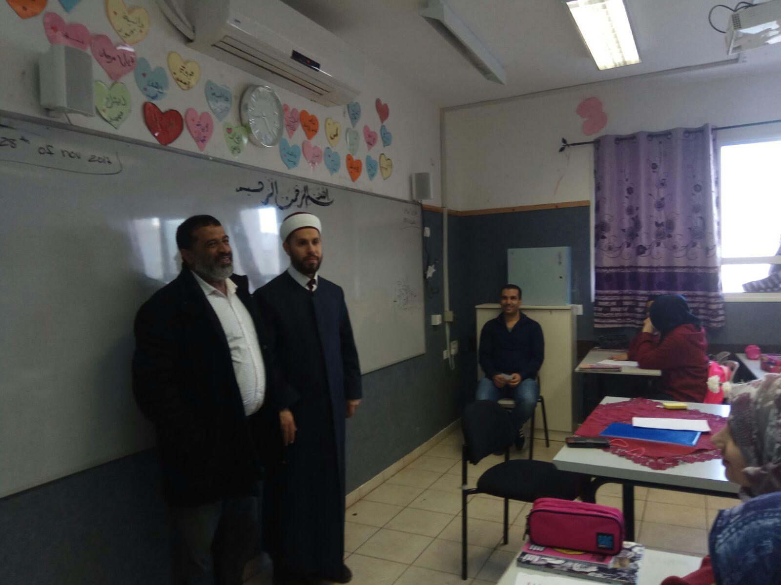 "Photo of ""رابطة الائمة في أم الفحم"" تنظم فعاليات احتفالية  في مدارس المدينة بمناسبة المولد النبوي الشريف"