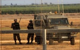 الجيش الإسرائيلي يعلن محيط غزة منطقة عسكرية مغلقة