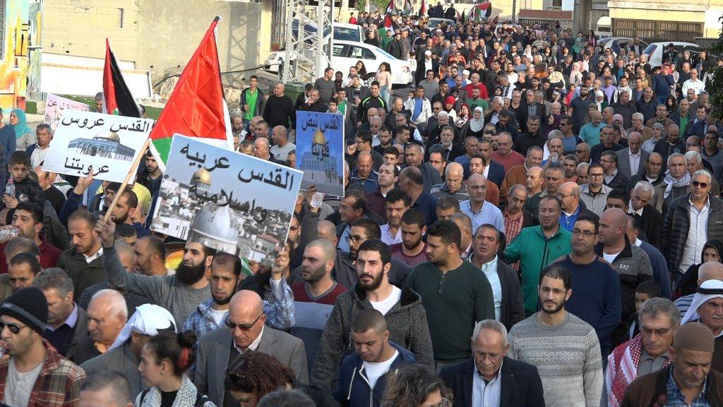 Photo of صور وفيديو من مظاهرة سخنين الحاشدة نصرة القدس