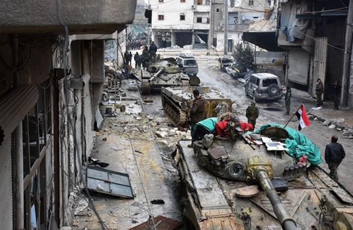 """Photo of النظام السوري يحاول """"نسف"""" اتفاق خفض التوتر ومعارك في الغوطة"""