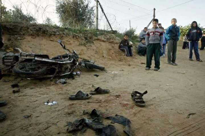 Photo of شهيدان في غزة بقصف إسرائيلي