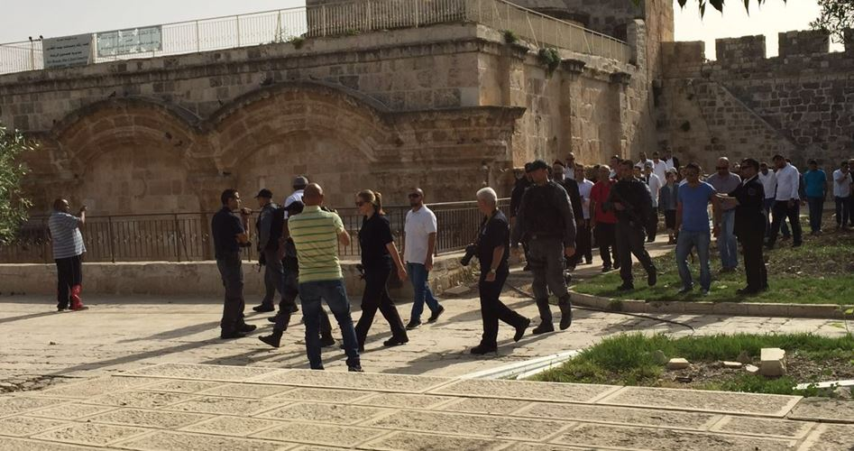 Photo of 42 مستوطنًا يقتحمون باحات الأقصى