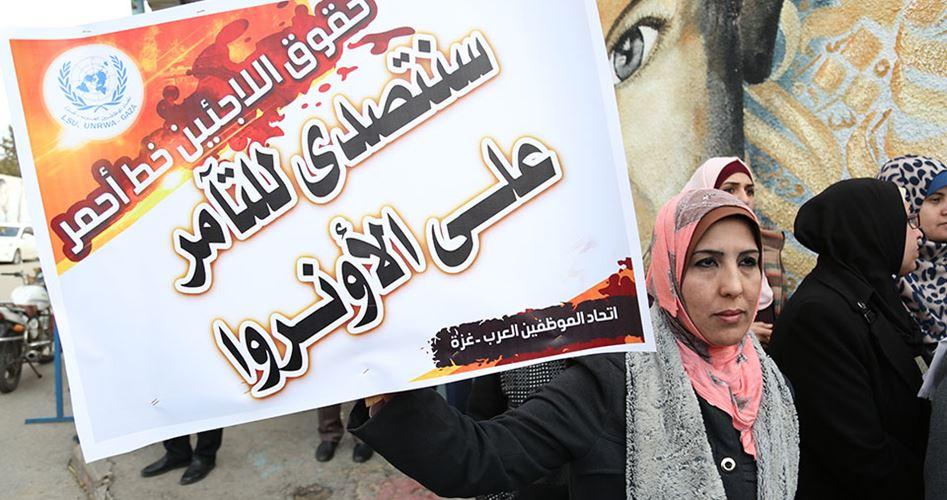 "Photo of اللجنة المشتركة للاجئين تدعو للتصدي لمؤامرة إنهاء ""الأونروا"""