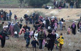 """حركة نزوح كبيرة إلى شمال إدلب جراء هجمات النظام و""""داعش"""""""