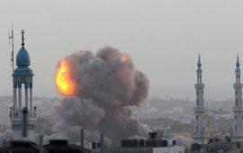غارة إسرائيلية على هدف مجهول على الحدود بين غزة ومصر
