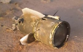 الدفاعات السعودية تعترض صاروخا بالستيا فوق نجران