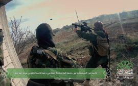 المعارضة تواصل التقدم وتستعيد مناطق بإدلب وحماة