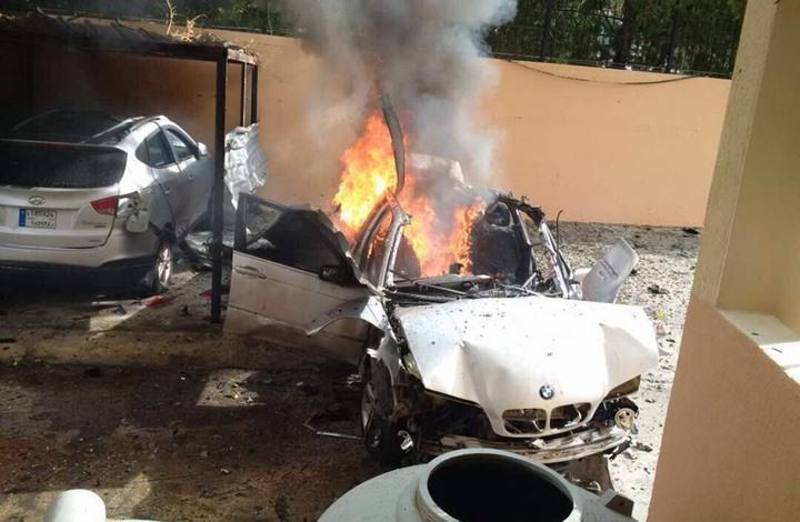 Photo of إصابة أحد كوادر حماس بانفجار سيارة بصيدا جنوبي لبنان