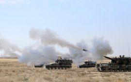 """لليوم الثاني.. تبادل للنار بين الجيش التركي و""""قسد"""" بعفرين"""