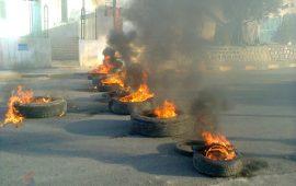 احتجاجات ليلية ومحاولة اقتحام بنك في قفصة التونسية