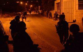 الاحتلال ينفذ حملة اعتقالات في الضفة تطال 14 مواطنا