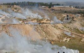 """إصابات بمواجهات مع الاحتلال في قرية """"النبي صالح"""""""