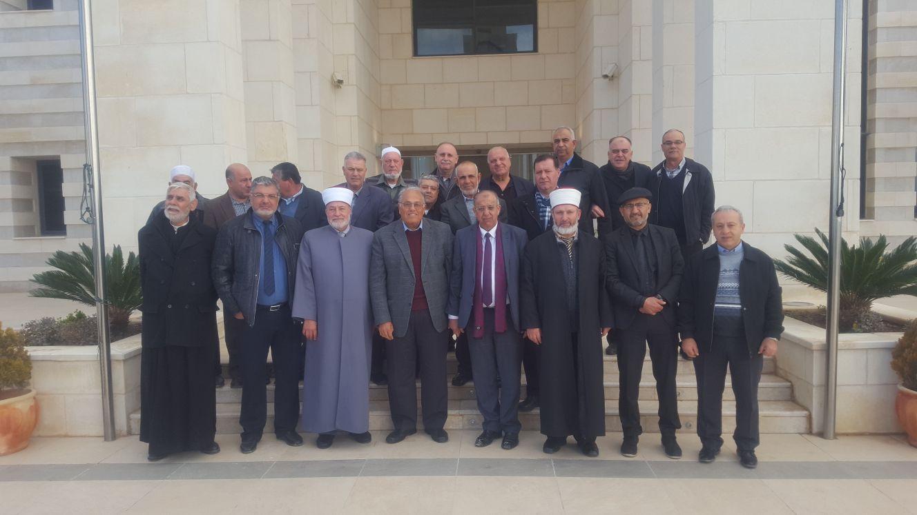 Photo of وفد نصراوي يزور الجامعة الأمريكية في جنين ويبحث مع إداراتها شؤون طلبة الداخل