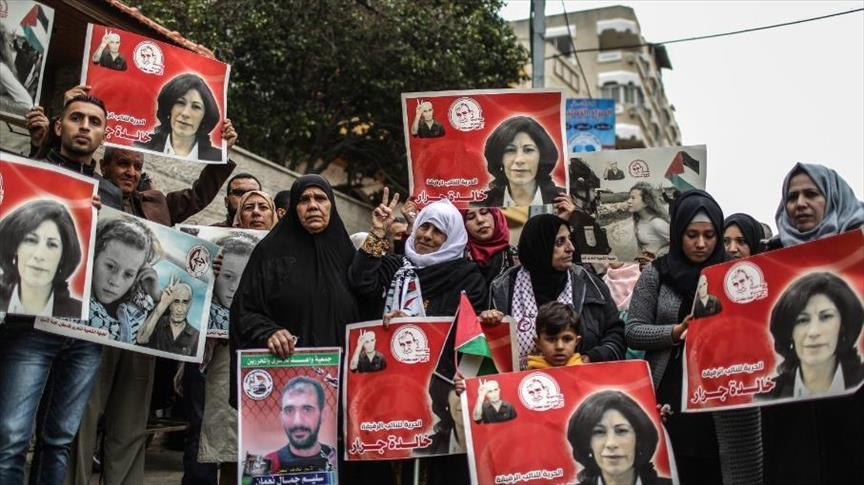 Photo of وقفة في غزة تضامنا مع المعتقلين في السجون الإسرائيلية