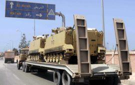 الجيش المصري يبدأ عملية عسكرية شاملة في سيناء