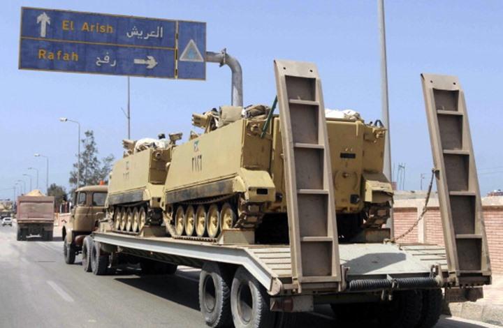 Photo of الجيش المصري يبدأ عملية عسكرية شاملة في سيناء