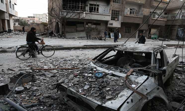 Photo of بدء سريان وقف لإطلاق النار في الغوطة الشرقية