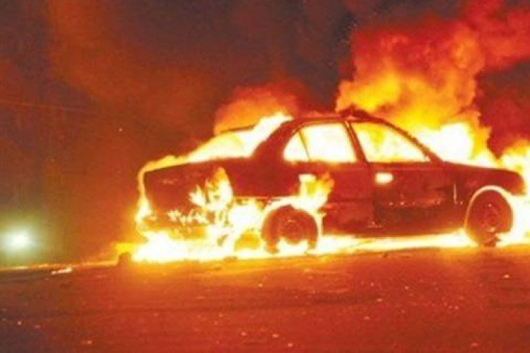 Photo of قتيلان بانفجار سيارة قرب مستشفى نهاريا