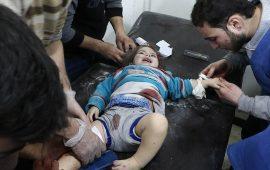 مقتل 9 مدنيين في الغوطة الشرقية بغارات للنظام السوري