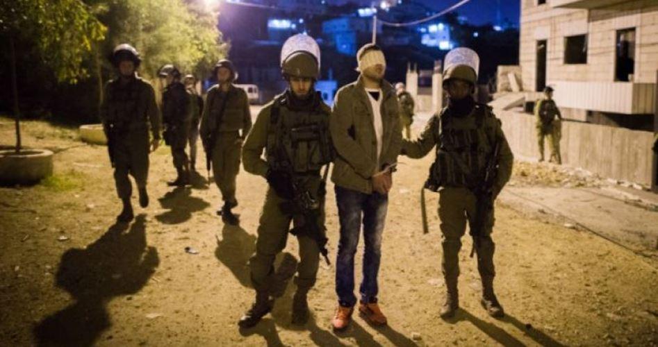 Photo of اعتقال 16 فلسطينيا في حملة مركزة للاحتلال بالضفة