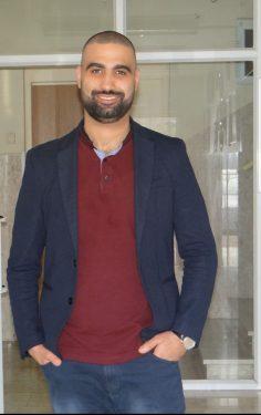 الناشط الساسي عمار أبو قنديل
