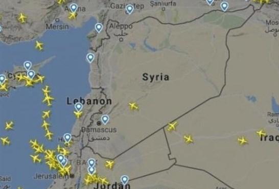 شركات الطيران تغيّر مساراتها تحسبا لحرب ضد سوريا