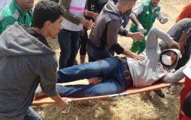 """""""العفو الدولية"""" تطالب بوضع حد لاستخدام القوة ضد المتظاهرين بغزة"""