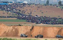 كابوس إسرائيلي يتمثل بتوافد 100 ألف محتج لخط الهدنة بغزة