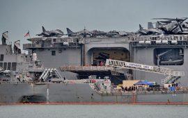 أسطول جوي وبحري أمريكي ضخم في طريقه إلى سوريا