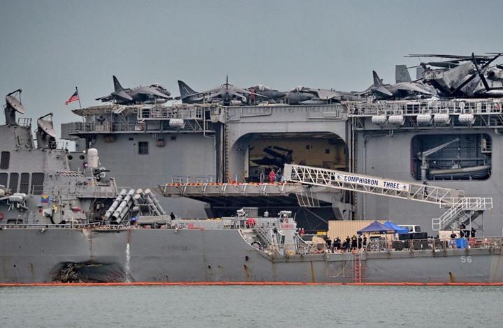 Photo of أسطول جوي وبحري أمريكي ضخم في طريقه إلى سوريا