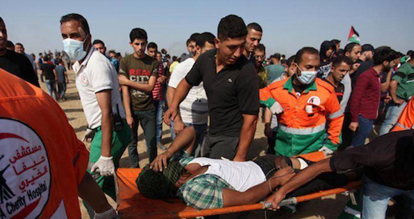 Photo of الصحة: 112 شهيدًا و13 ألف جريح بغزة منذ 30 مارس