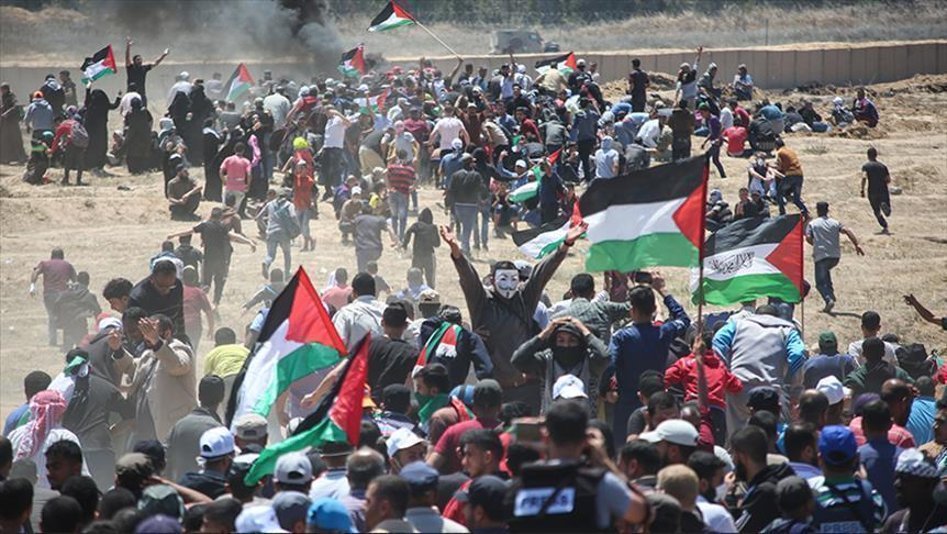 "Photo of ""هيئة حقوقية"": 54 من جرحى المجزرة الإسرائيلية في حالة ""موت سريري"""