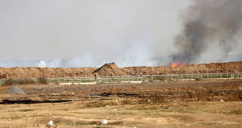 "Photo of حرائق جديدة وأحدُها يوقف حركة القطارات بـ""غلاف غزة"""