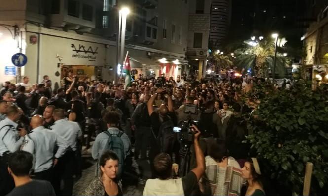 Photo of مساء اليوم: مظاهرة مناصرة لغزة في حيفا والشرطة تتأهب