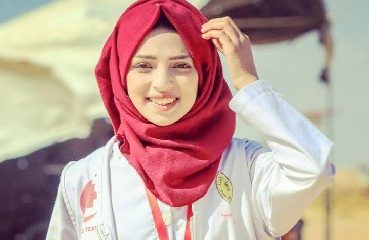 """Photo of غزة تودع رزان """"ذات الرداء الأبيض"""""""