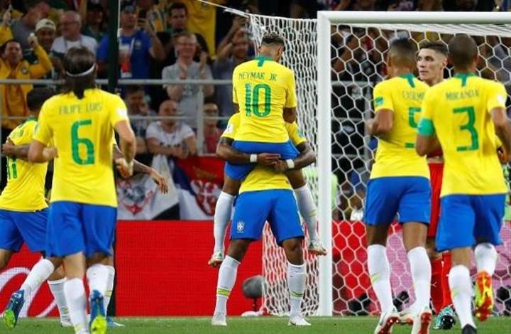 Photo of منتخبا البرازيل وسويسرا يلتحقان بالدور الثاني