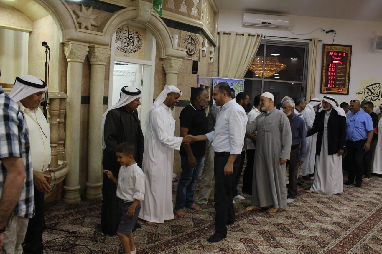"Photo of لجنة ""افشاء السلام"" في النقب تنظم ""لقاء معايدة"" في اللقية"