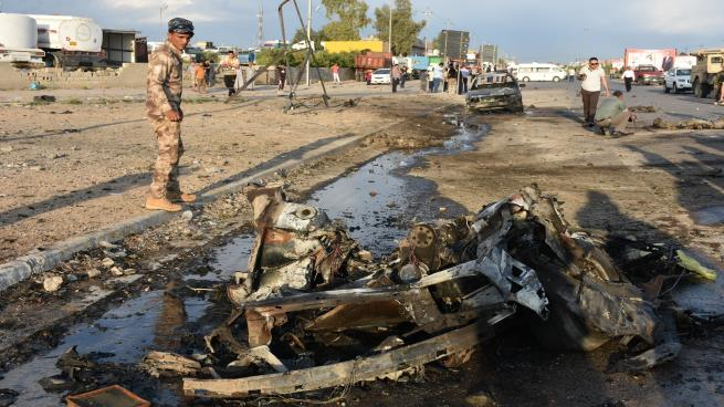 Photo of قتلى وجرحى في تفجير انتحاري استهدف مخازن مفوضية الانتخابات بكركوك