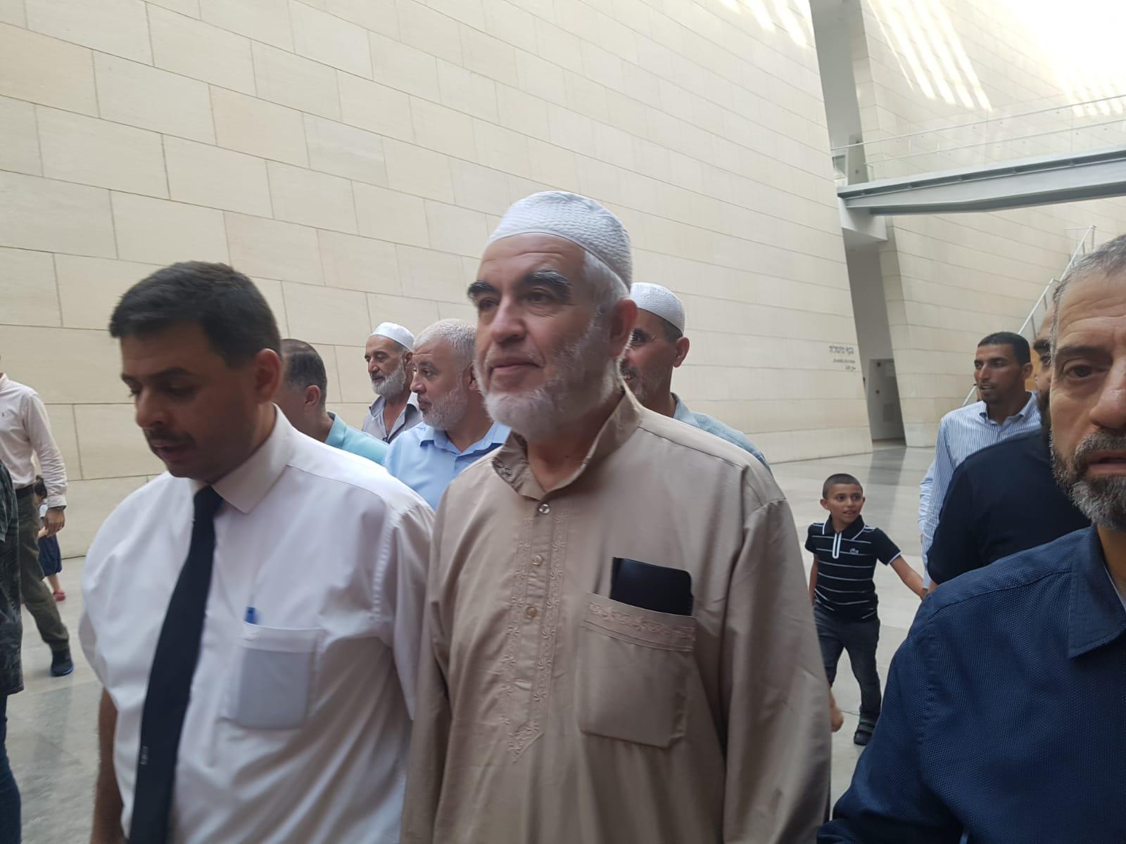 """Photo of """"الصلح"""" في حيفا تواصل الاستماع لشهود النيابة في ملف الشيخ رائد صلاح"""