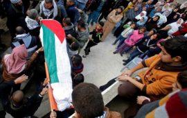 فلسطين تستقبل جثامين ثلاثة شهداء اليوم