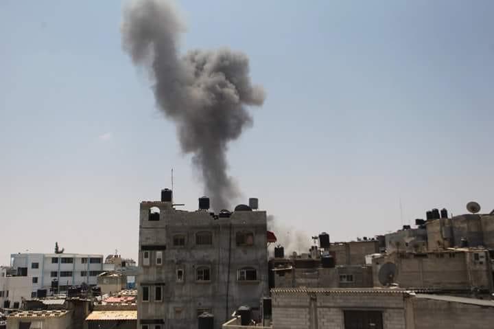 Photo of المقاومة ترد.. سلسلة غارات إسرائيلية جديدة على قطاع غزة