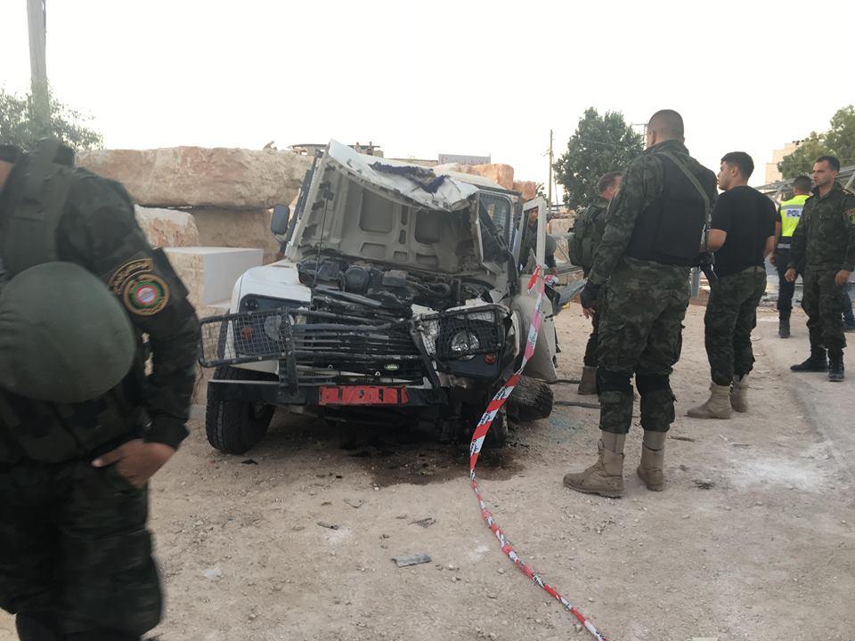 Photo of وفاة ثلاثة من قوات الأمن الفلسطيني جراء حادث سير ذاتي