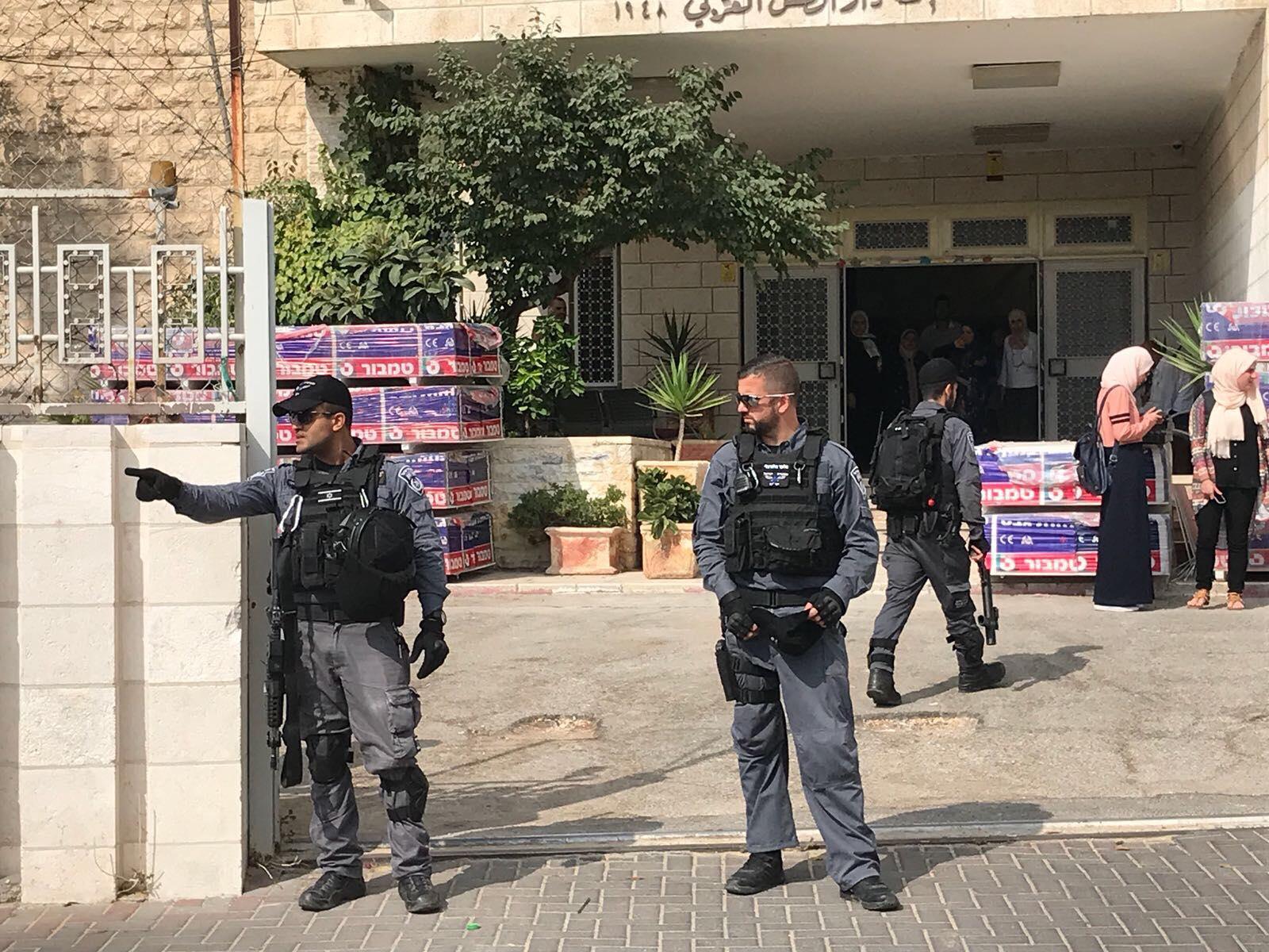 "Photo of منع إقامة مؤتمر ""الوقف الإسلامي في القدس"""