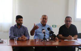 """الناصرة: مؤتمر صحفي للجنة المتابعة حول قانون """"القومية"""""""