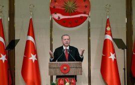 أردوغان: عازمون على حماية المكتسبات التي جُنِيَت بدماء الشهداء