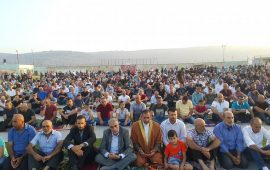 تأسيا بالسنة النبوية… العديد من بلدات الداخل الفلسطيني تحيي صلاة العيد في الأماكن العامة
