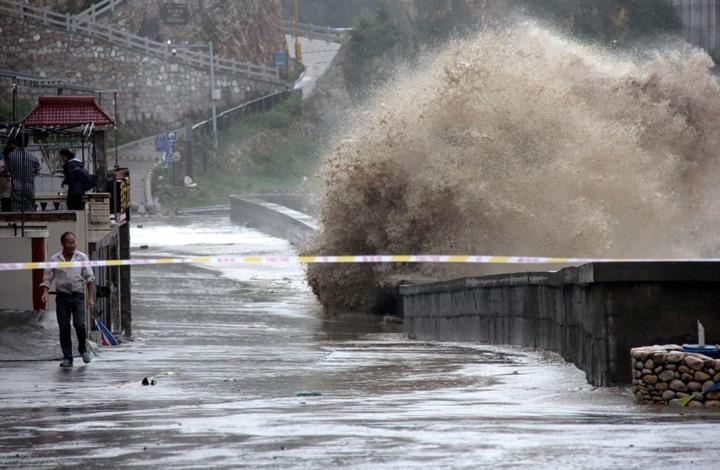 """Photo of إجلاء 200 ألف شخص مع وصول إعصار """"ياجي"""" لساحل الصين"""