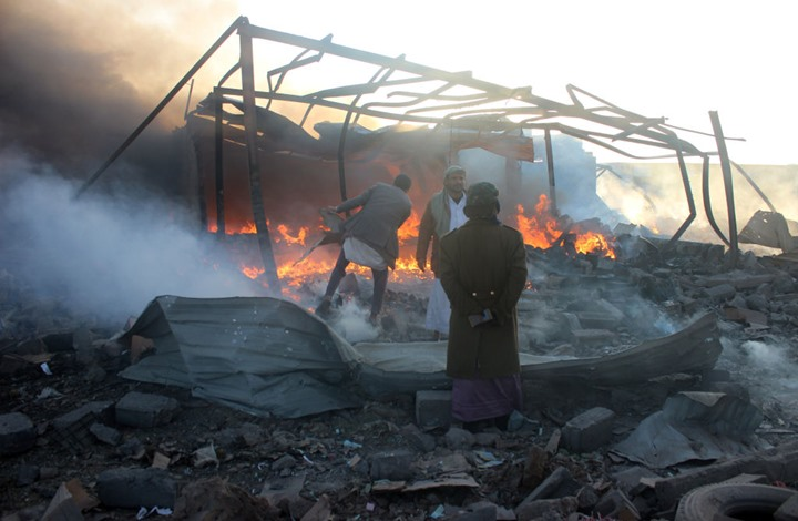 Photo of مقتل عشرات اليمنيين في صعدة والحوثيون يتهمون التحالف