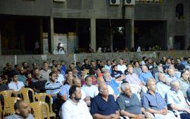 اختتام مشروع البرامج الدعوية في الناصرة باحتفال حاشد ومحاضرة للشيخ كمال خطيب